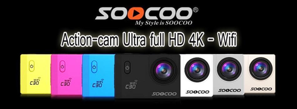 Caméra sportive ultra HD 4K étanche