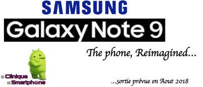 Galaxy Note 9 (Nouveauté)