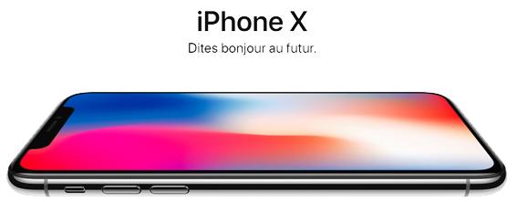 iPhone X (nouveau)