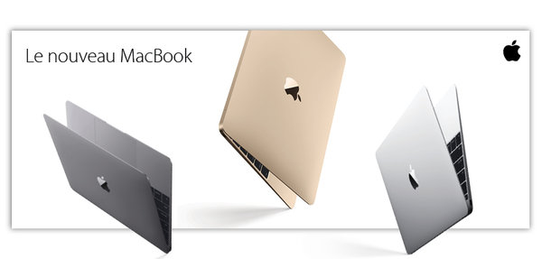 """MacBook 12"""" Rétina"""