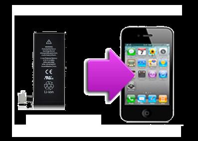 forfait changement batterie iphone 4 la clinique du smartphone. Black Bedroom Furniture Sets. Home Design Ideas