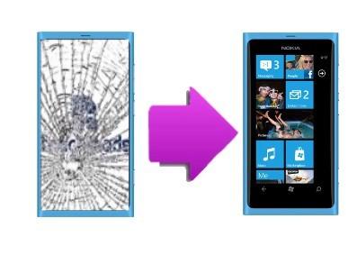 Changement vitre tactile casse pour nokia lumia 920 sur for Photo ecran lumia 920