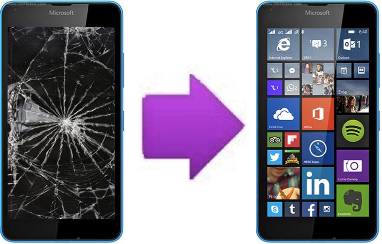 Changement vitre tactile casse pour microsoft lumia 640 for Photo ecran lumia 640