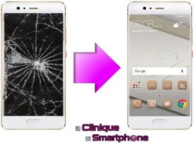 Remplacement Vitre tactile + Ecran LCD Huawei P10