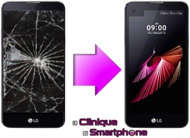 Remplacement Vitre Tactile + Ecran LCD LG X Screen