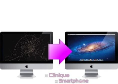 "Remplacement Bloc écran (Vitre + Ecran LCD) iMac 27"" (A1419) 2012-2014"