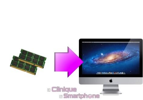 Augmentation Mémoire RAM iMac, à partir de: