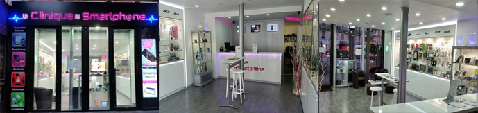la clinique du smartphone 89 rue de turbigo 75003 Paris