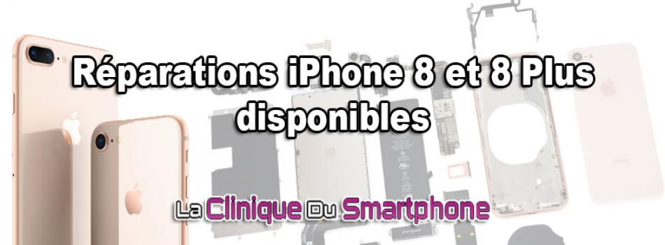 réparations iphone 8