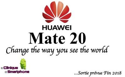 Huawei Mate 20 (Nouveauté)