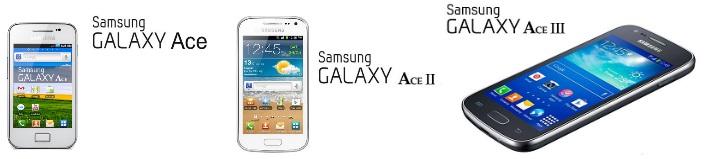 Galaxy Ace/Ace 2/Ace 3