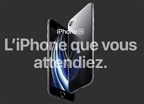 iPhone SE 2020 (nouveauté)