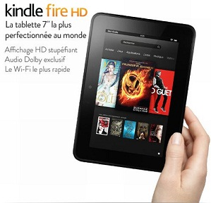Tablette Amazon Kindle