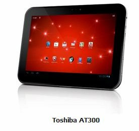 Tablette Toshiba AT300