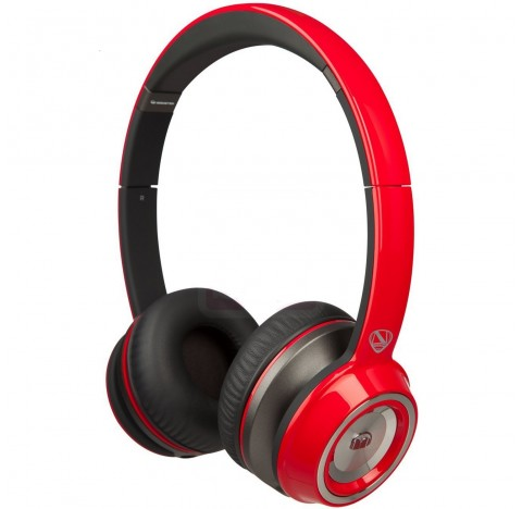 Casque Audio Monster NCredible NTune (rouge)