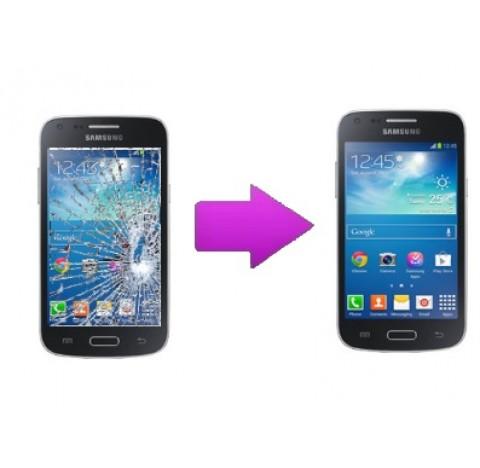Changement vitre tactile Galaxy Core