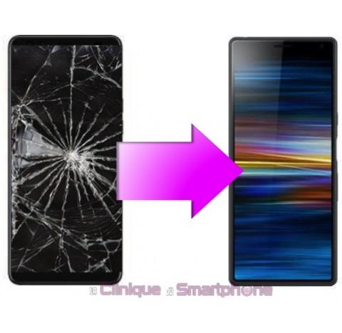 Remplacement Vitre Tactile + Ecran LCD Sony xperia 10 Plus (L4213)