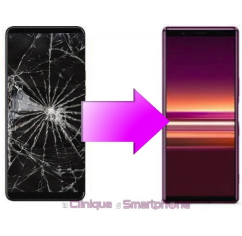 Remplacement Vitre Tactile + Ecran LCD Sony xperia 5 (J8210)