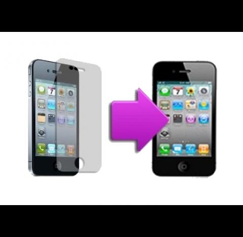 Forfait pose film de protection iPhone 4/4S