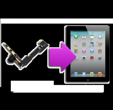 Changement  prise écouteurs iPad 2