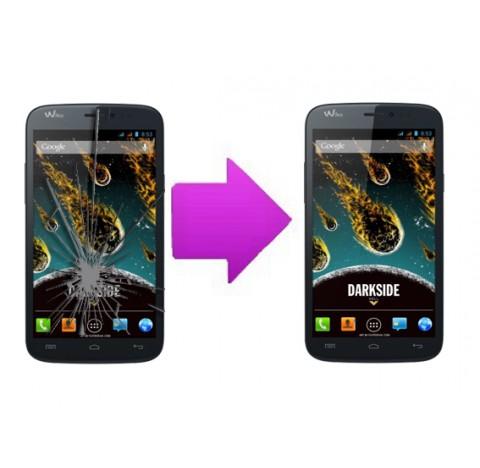 Changement bloc écran tactile + LCD  Wiko Darkside