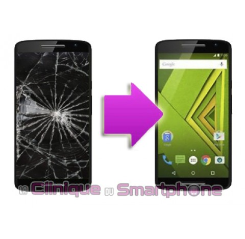 Remplacement Vitre Tactile + Ecran LCD Motorola Moto X Play (XT1562)