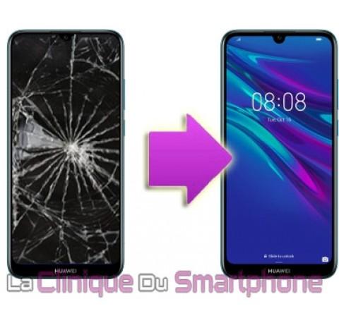 Remplacement Vitre Tactile + Ecran LCD Huawei Y5 - 2019