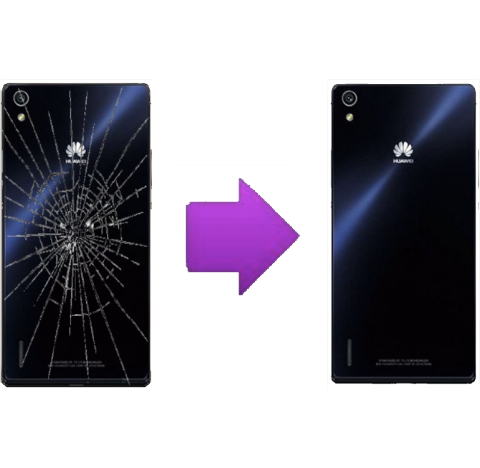 Changement vitre arrière Huawei P7