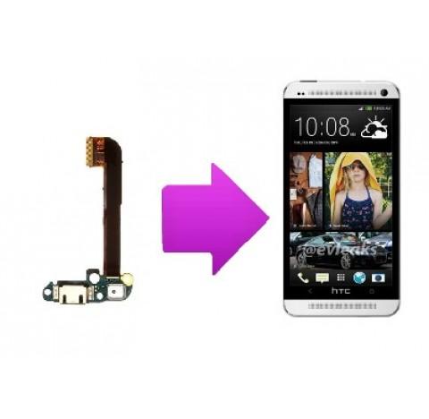 Changement connecteur de charge + micro HTC one M7