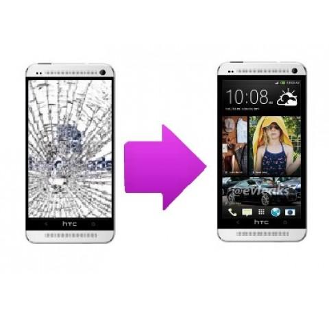 Changement bloc complet  tactile + LCD pour  HTC One M7