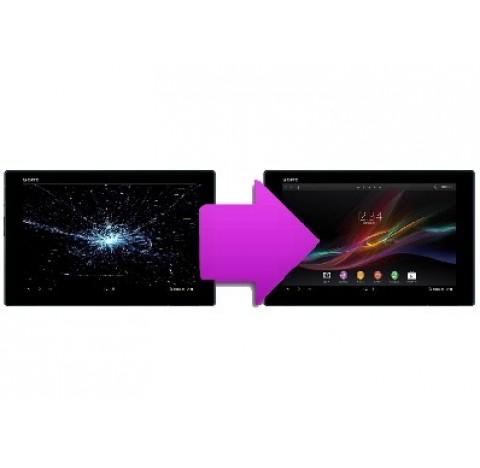 Changement bloc écran tablette  Sony tab Z2
