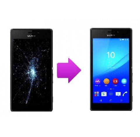 Changement LCD +  vitre tactile  Sony Xperia M4 Aqua
