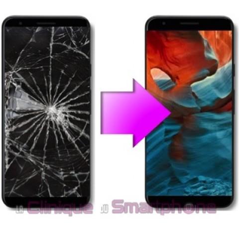 Remplacement Vitre Tactile + Ecran pOled Google Pixel 3a XL