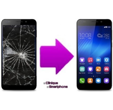 Remplacement Vitre Tactile + Ecran LCD Huawei Honor 6