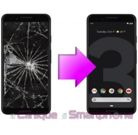 Remplacement Vitre tactile + Ecran OLED Google Pixel 3