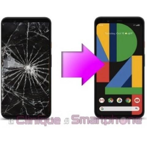 Remplacement Vitre Tactile + Ecran Oled Google Pixel 4
