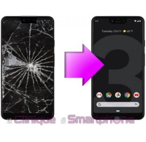 Remplacement Vitre tactile + Ecran OLED Google Pixel 3 XL