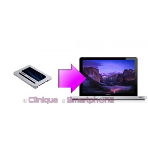 """Remplacement Disque Dur SSD Sata  MacBook  Pro 13'', 15'' et 17"""" à partir de:"""