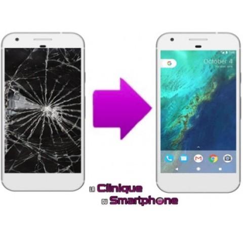 Remplacement Vitre tactile + Ecran LCD pour HTC Google Pixel XL