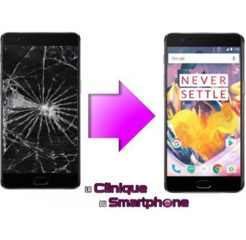 Remplacement Vitre tactile + Ecran LCD OnePlus 3T