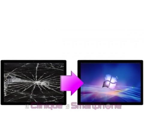 Remplacement Vitre Tactile + Ecran LCD  Microsoft Surface Pro 3