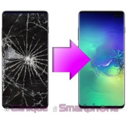 Remplacement Bloc écran complet Samsung Galaxy S10+