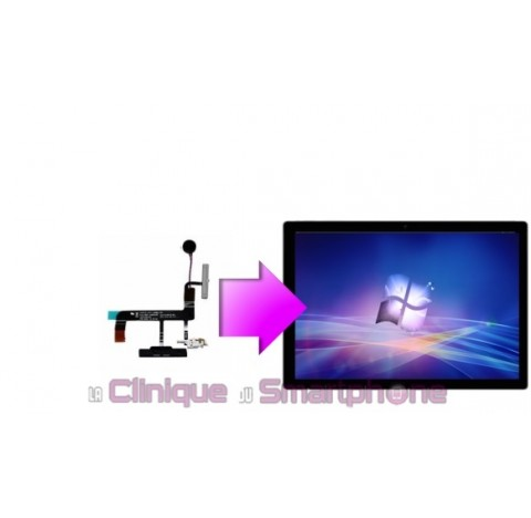 Remplacement Nappe Power, Boutons volume, Prise Jack Microsoft Surface Pro 3