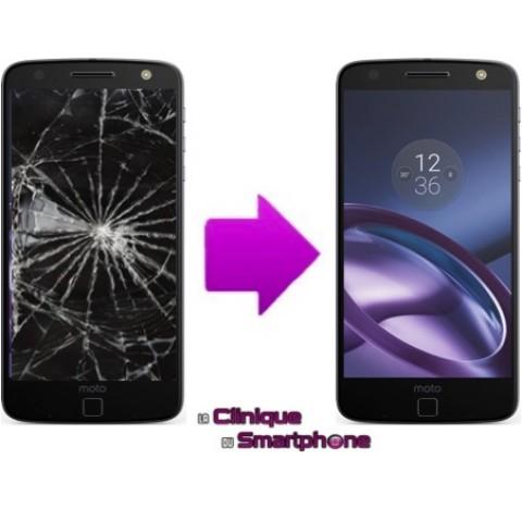 Remplacement Vitre Tactile + Ecran LCD pour Motorola Moto Z