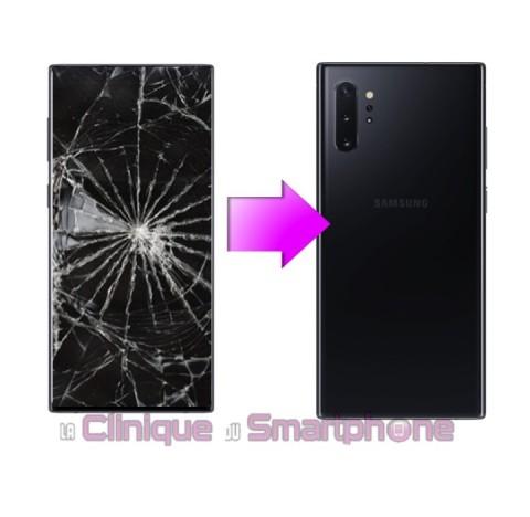 Remplacement Vitre Arrière Samsung Galaxy Note 10 Plus