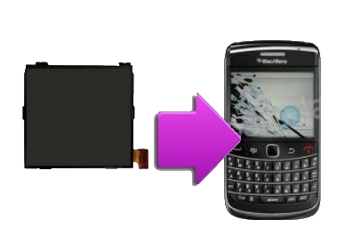 Changement ecran lcd pour blackberry bold 9700 9780 la for Photo ecran blackberry