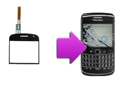 changement vitre tactile blackberry bold 9900 la clinique du smartphone. Black Bedroom Furniture Sets. Home Design Ideas