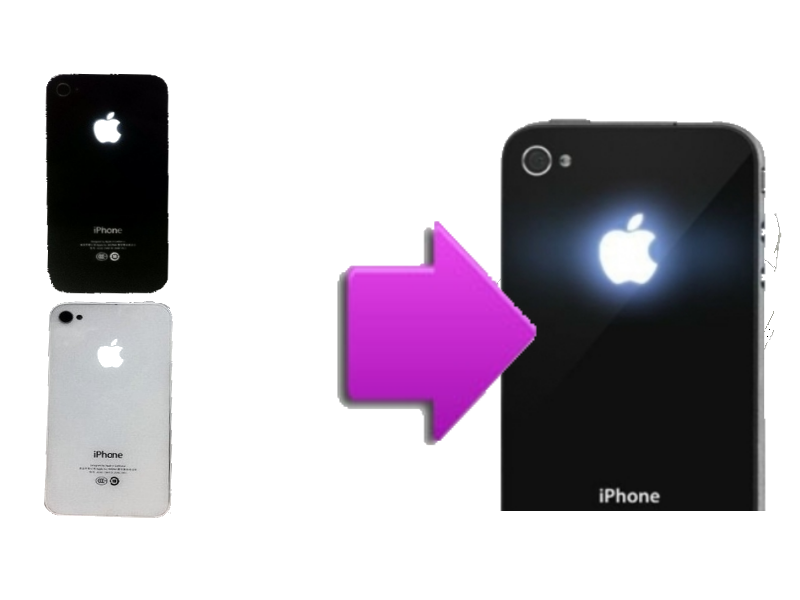 changement vitre arri re lumineuse iphone 4s la clinique du smartphone. Black Bedroom Furniture Sets. Home Design Ideas