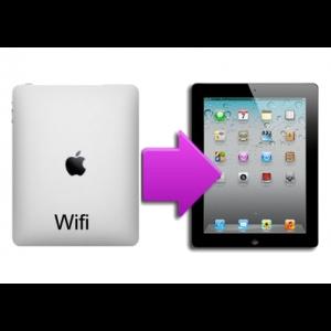 Changement coque arrière iPad 1
