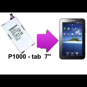 Changement batterie Galaxy Tab 7'', 8.9'' et 10.1''